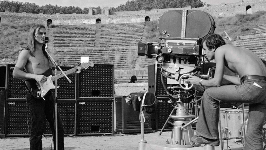 Pink Floyd Live at Pompeii Wem Speakers, David Gilmour